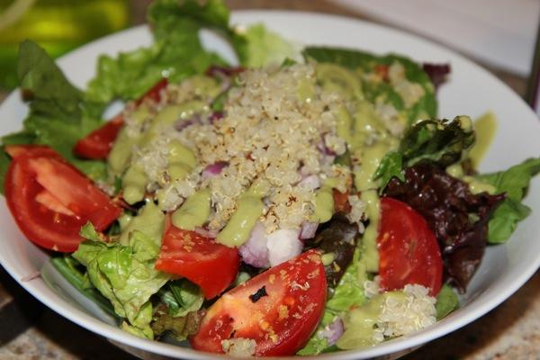 Avocado BLT Salad Vegan