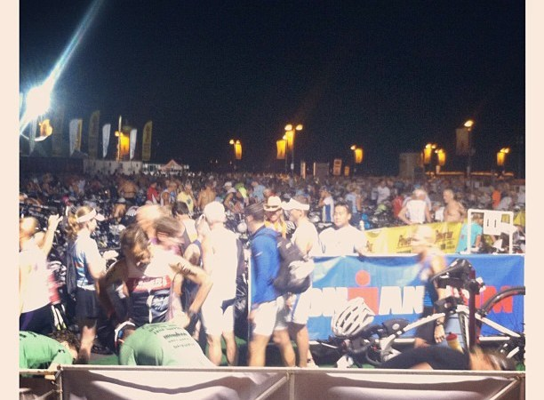Race day updates from kona 2012