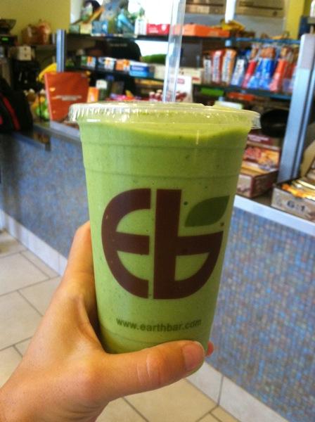 Earth Bar Kale Smoothie