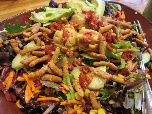Organic Vegetarian Restaurant Experience