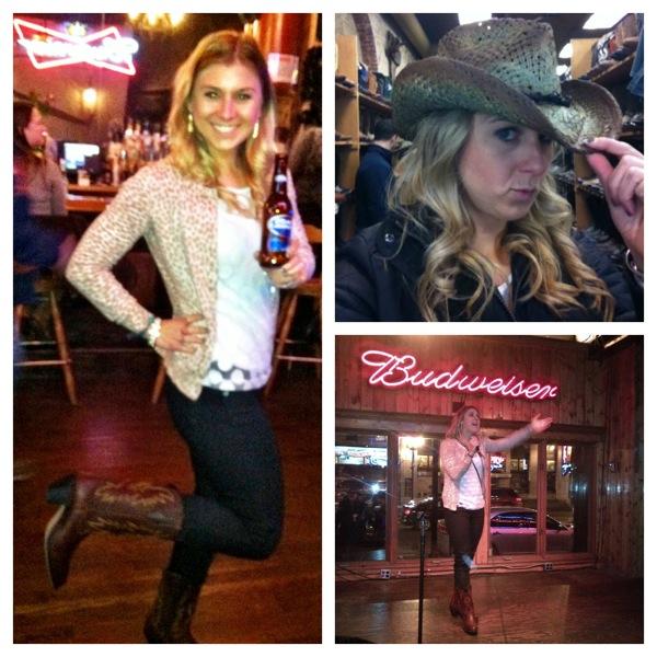 Nashville Boots Hat Karaoke