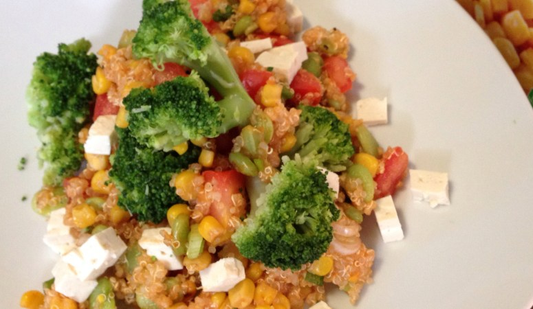 $5 Dinner Idea: Quinoa Succatash