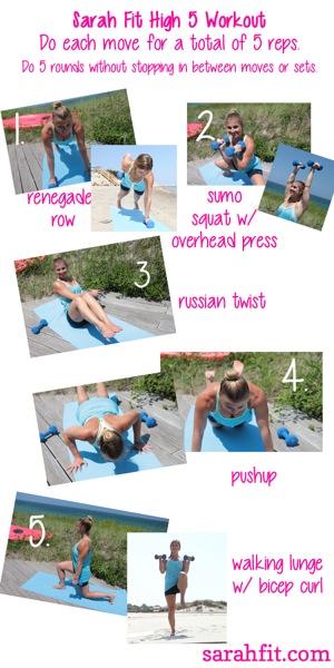 High 5 Workout