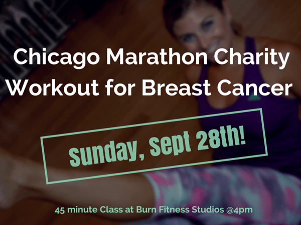 Sweat w/ Me This Weekend to Raise $$ for Breast Cancer!