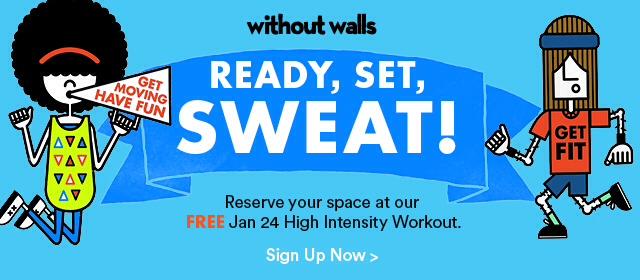 Free High Intentsity Workout Saturday, Jan 24th!