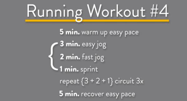 Running Workout Interval Treadmill