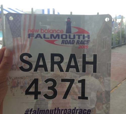 Running Falmouth Road Race at 20 Weeks Pregnant Recap