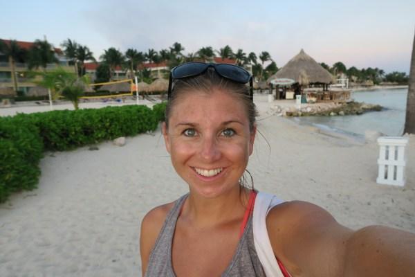 Marriott Curacao Selfie
