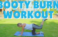 Booty Burn + Lift Workout Video – No Gym Required
