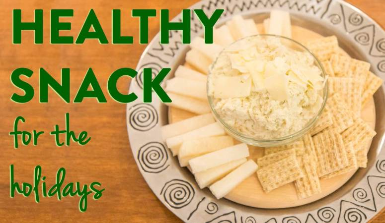 Chive White Bean Dip with Thrive™ Algae Oil