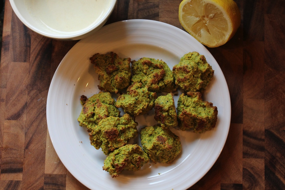 Simple Vegan Recipe: Baked Falafel