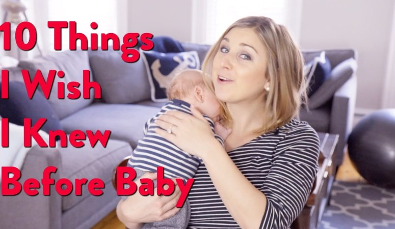10 Things I Wish Knew Before Baby