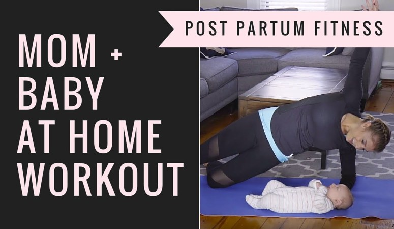 Mommy and Me Workout + Half Marathon Training Update