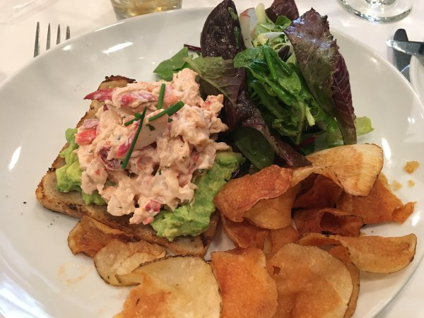 Grill 23 Lobster Avocado Toast