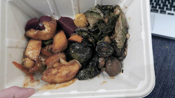 What I eat in a day Dinner Whole Foods