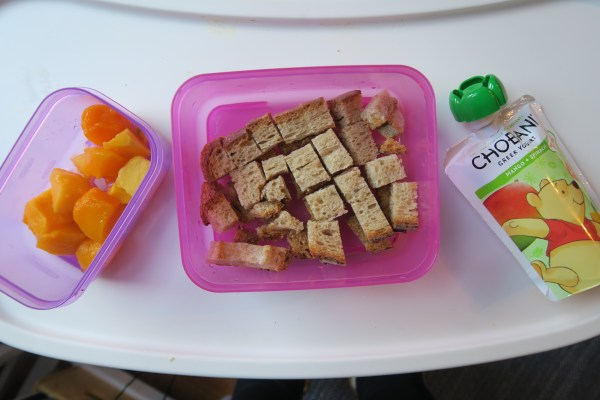 Chobani Tots Toddler Lunch Ideas