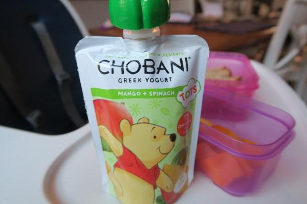 Chobani Tots Yogurt Apple flavor