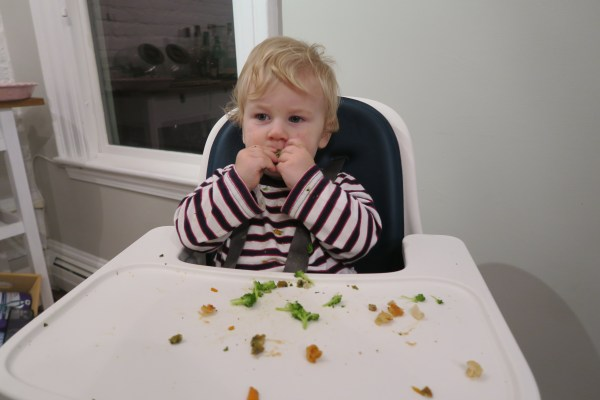 Tommy Eating