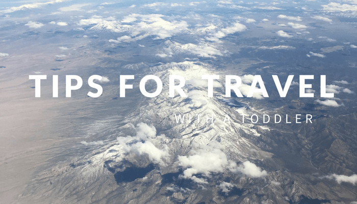 Cross Country Travel With a Toddler
