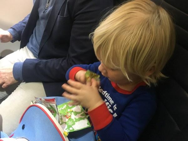 Toddler Spirit Airlines