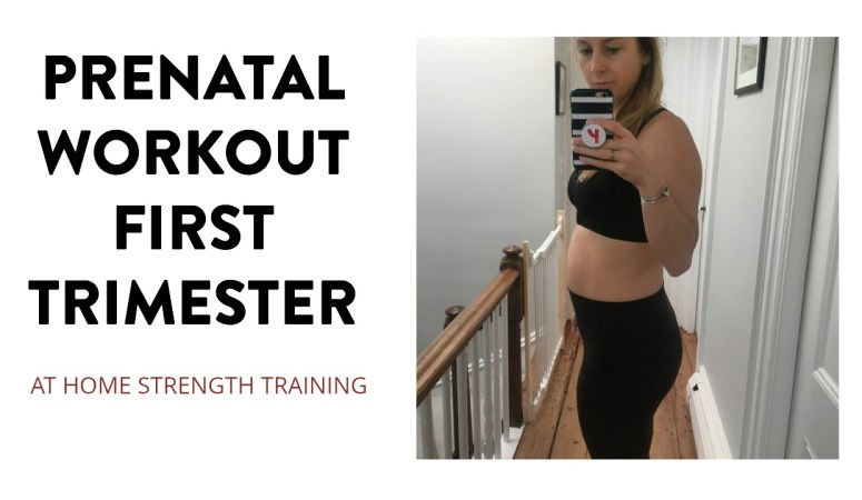 First Trimester Pregnancy Workout Strength Training