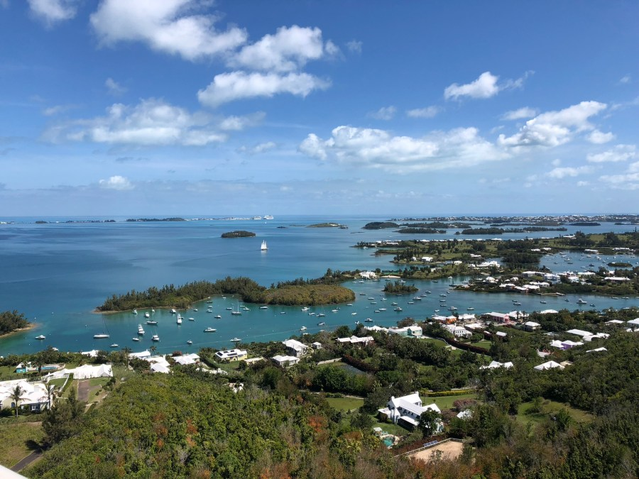 Gibbs Hill Lighthouse view