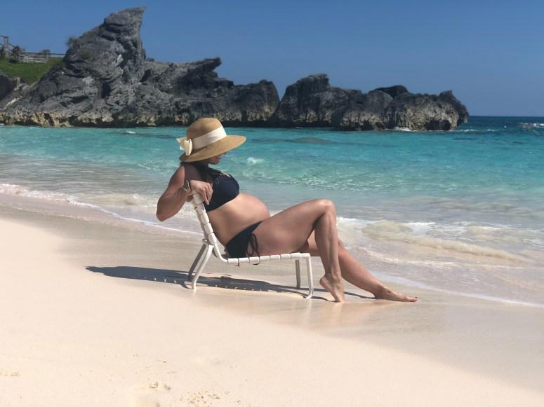 Babybump in Bermuda for Babymoon