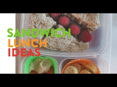 5 Sandwich Ideas For Preschool Lunch Boxes