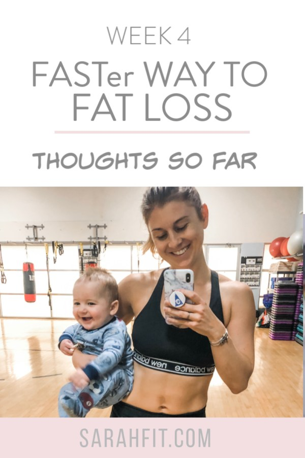 Thinking about signing up? Here are my thoughts on Faster Way To Fat Loss program so far.