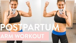 Postpartum Abs + Arms Workout