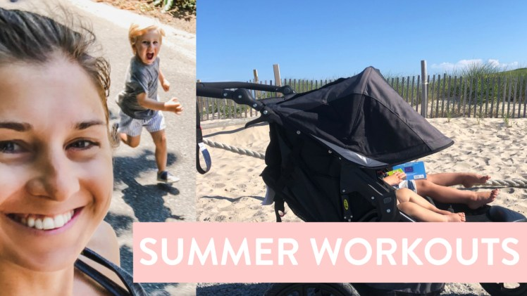 Summer Vacation As a Work From Home Fit Mom Part 1