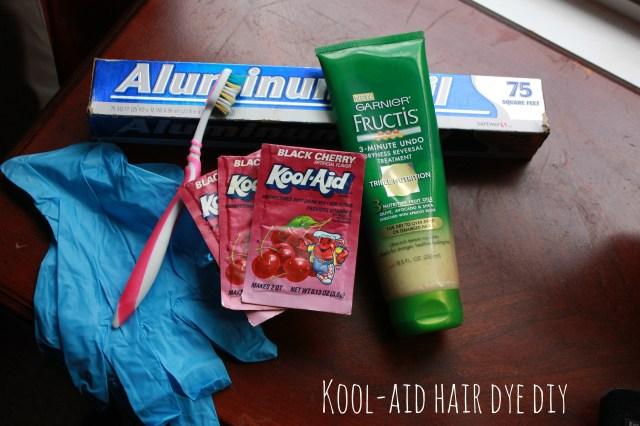 kool-aid hair dye diy sarah forshaw's