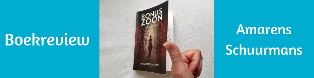 Sarah Gezien Bonuszoon boekreview