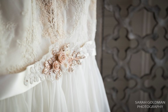 wedding dress by london and lace