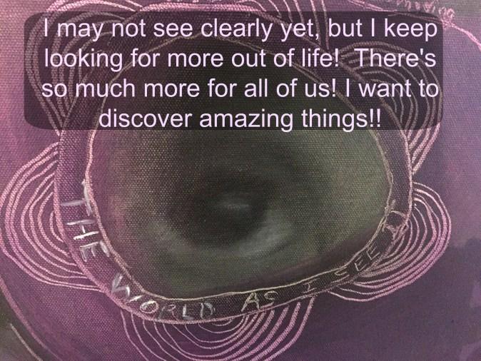 Sarah Hale Folger.blurred vision