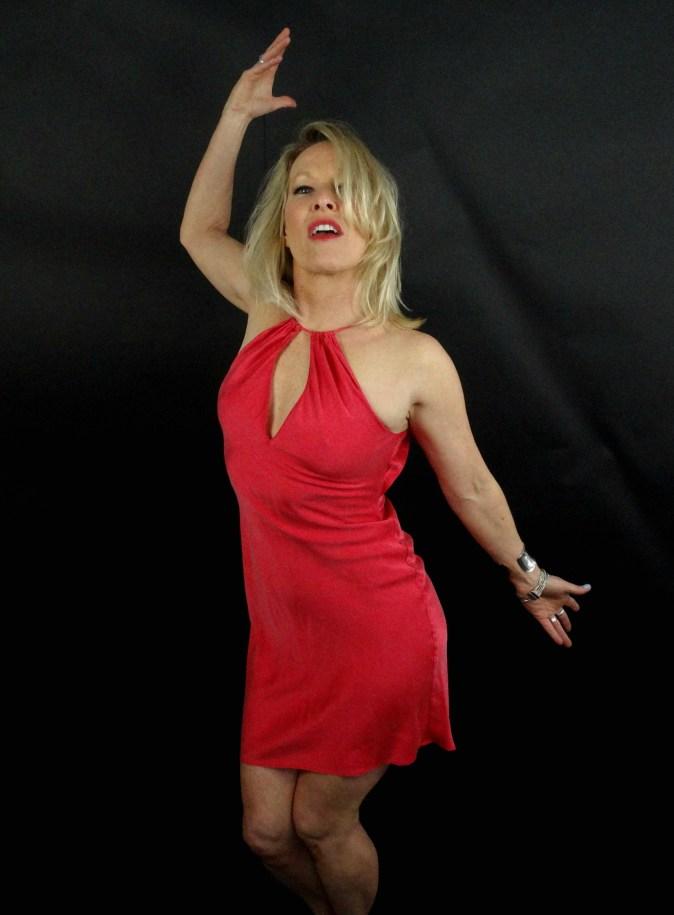 Sarah Hale Folger hot pink