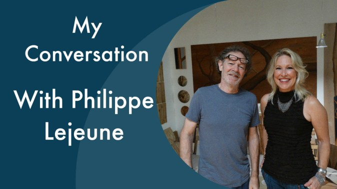 sarah phil thumb - Check Out My Video Conversation with RI Artist, Philippe Lejeune!!!