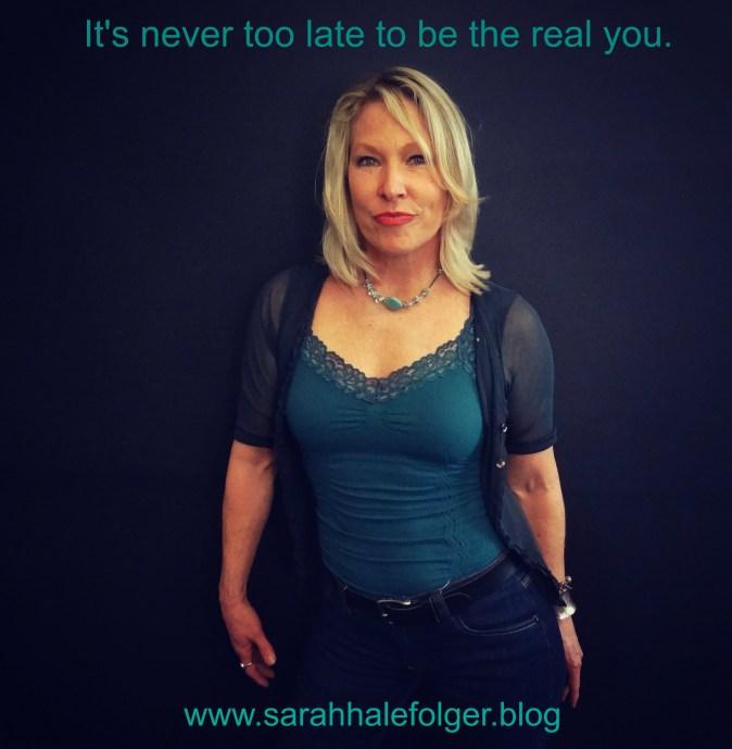 Sarah Hale Folger. Never too late