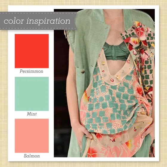 Red Pink And Mint Green Color Palette Sarah Hearts
