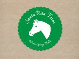 Canned goods label for Santa Rita Farm