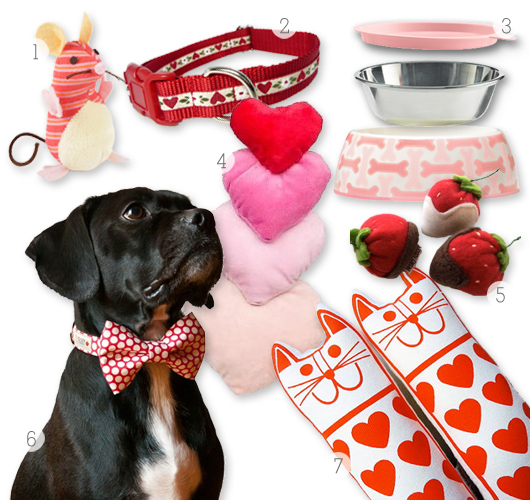 Good Valentine Bow Adorable Dog - valentines_gifts_for_pets  HD_708275  .jpg?resize\u003d530%2C500