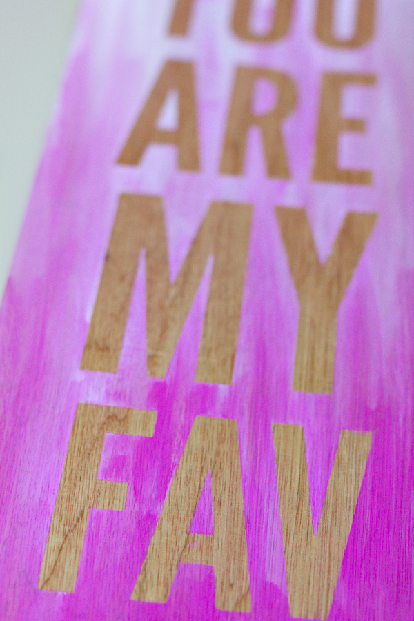 diy ombre quote wall art 4