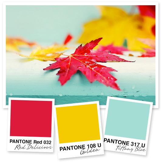 red gold light blue primary color palette