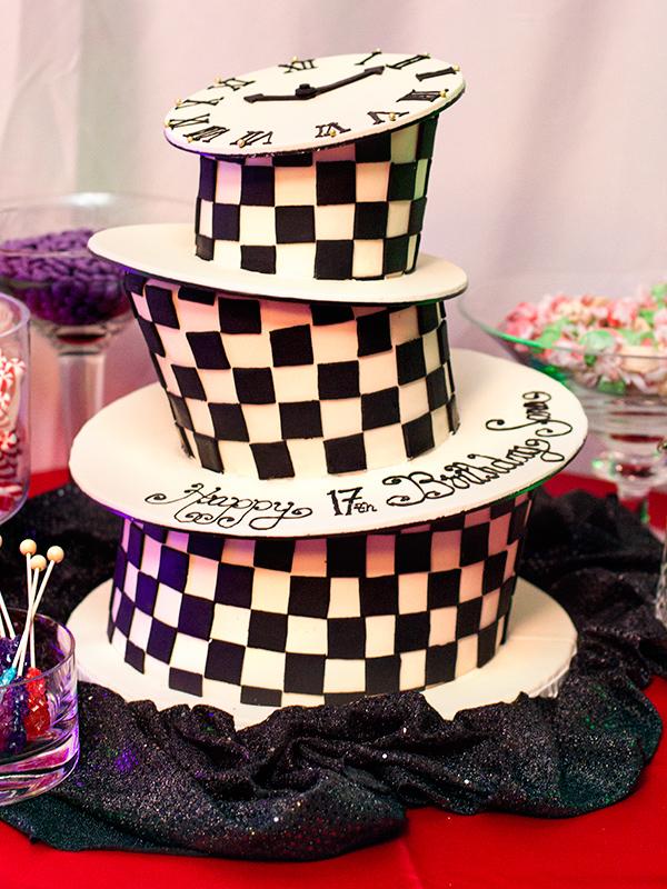 Alice In Wonderland Birthday Cake Sarah Hearts
