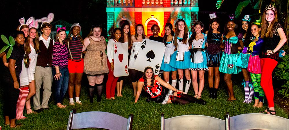 Alice in Wonderland Teen Birthday Party