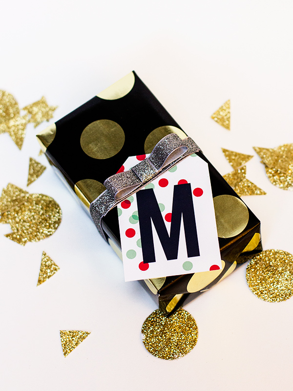 printable monogram gift tags from sarahhearts.com