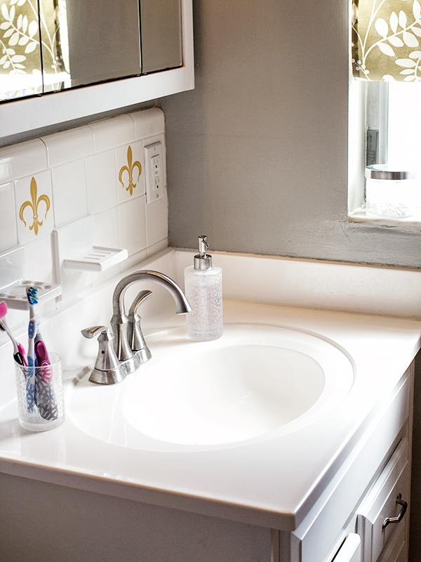 Small Master Bathroom Remodel Sarah Hearts