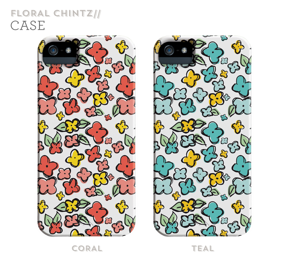 Floral Chintz iPhone Cases | Sarah Hearts