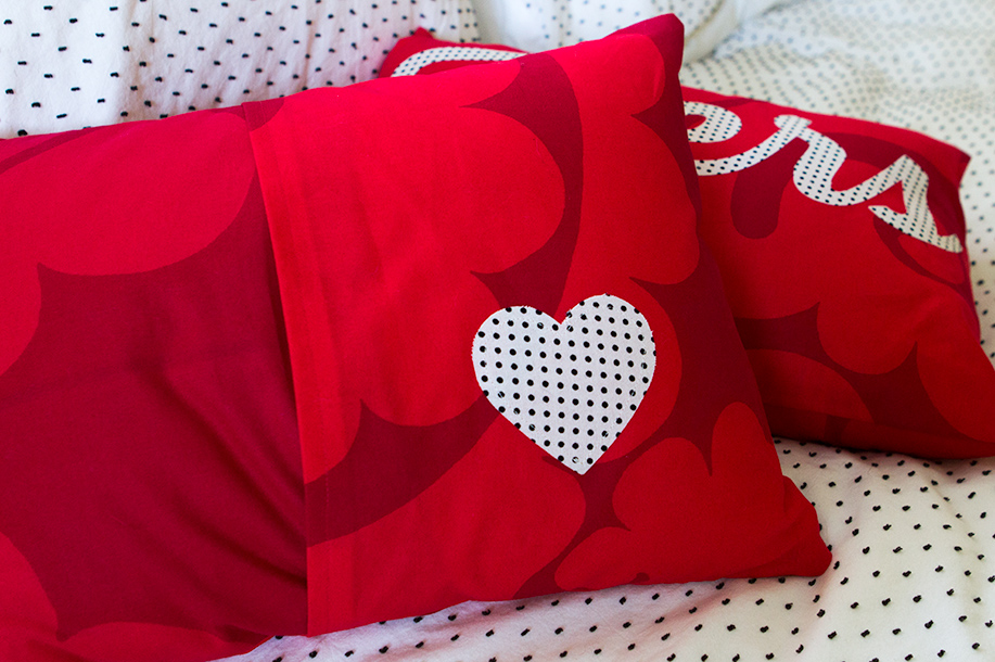 DIY His and Hers Pillows