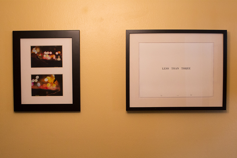 House Tour: Dining Room Art